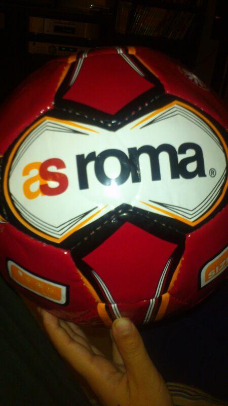 ローマ サッカーボール