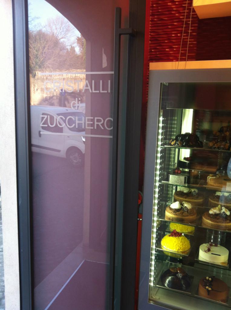 ローマ お菓子屋さん 店の外観