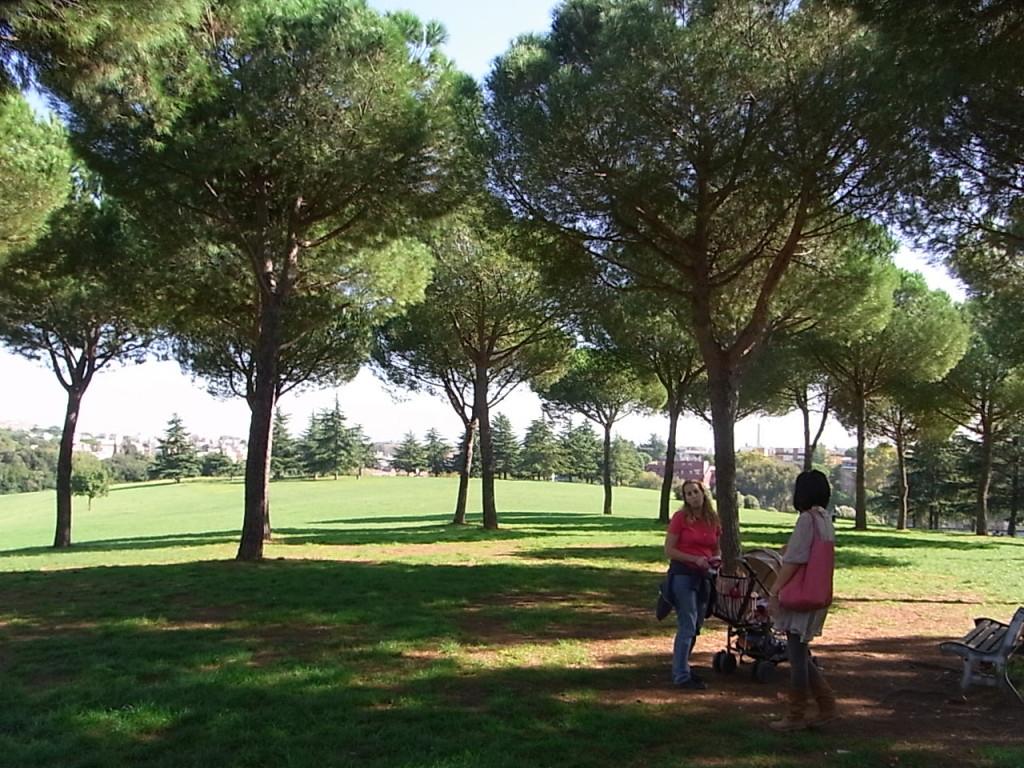 ローマのパンフィリ公園
