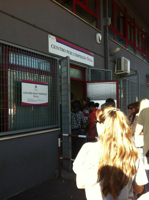 ローマの公共職業安定所