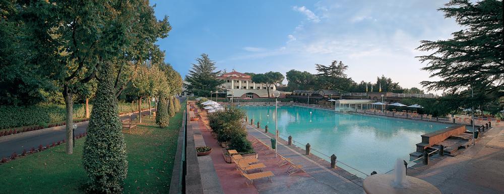 テルメ・デイ・パーピ イタリアの温泉