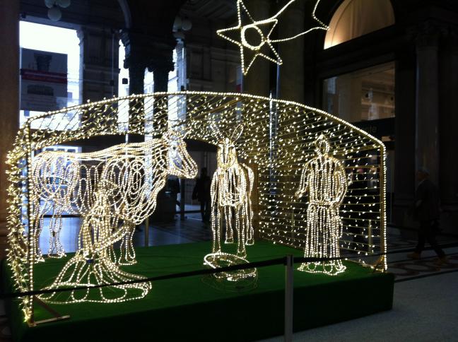 ローマのクリスマスイルミネーション